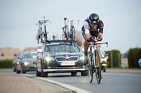 Stijn Devolder (BEL)<br /> <br /> 3 Days of West-Flanders 2014<br /> day 1: TT/prologue Middelkerke 7,0 km