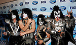 Kiss - Tommy Thayer, Paul Stanley, Eric Singer and Gene Simmons  at the 2009 American Idol Finale at the Nokia Theatre in Los Angeles, May 20th 2009..Photo by Chris Walter/Photofeatures