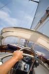 Sailing around Cape Corse, ketch Lady Be Good, Corsica, France, Mediterranean Coast, Coastal towns in Corsica,