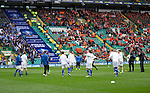 St Johnstone v Dundee United....17.05.14   William Hill Scottish Cup Final<br /> St Johnstone players warm-up<br /> Picture by Graeme Hart.<br /> Copyright Perthshire Picture Agency<br /> Tel: 01738 623350  Mobile: 07990 594431