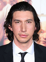 HOLLYWOOD, LOS ANGELES, CA, USA - SEPTEMBER 15: Actor Adam Driver arrives at the Los Angeles Premiere Of Warner Bros. Pictures' 'This Is Where I Leave You' held at the TCL Chinese Theatre on September 15, 2014 in Hollywood, Los Angeles, California, United States. (Photo by Xavier Collin/Celebrity Monitor)