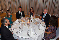 11-sept.-2013,Netherlands, Groningen,  Martini Plaza, Tennis, DavisCup Netherlands-Austria, Training,   Offical Dinner<br /> Photo: Henk Koster