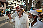 The sights , sounds and smells of the old town in Ahmedabad, Gujurat, India