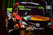 Monster Energy NASCAR Cup Series<br /> Champion's Week and Series Awards<br /> Las Vegas, NV USA<br /> Thursday 30 November 2017<br /> Martin Truex Jr, Furniture Row Racing, Bass Pro Shops/TRACKER BOATS Toyota Camry during the Series Awards Show<br /> World Copyright: Nigel Kinrade<br /> LAT Images