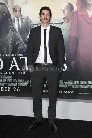 HOLLYWOOD, CA - OCTOBER 24: Jim Sturgess at the Los Angeles premiere of 'Cloud Atlas' at Grauman's Chinese Theatre on October 24, 2012 in Hollywood, California. Credit: mpi21/MediaPunch Inc.