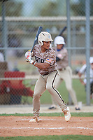 Harry Ford (1) during the WWBA World Championship at Lee County Player Development Complex on October 11, 2020 in Fort Myers, Florida.  Harry Ford, a resident of Kennesaw, Georgia who attends North Cobb High School, is committed to Georgia Tech.  (Mike Janes/Four Seam Images)