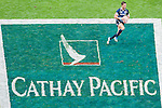 Fiji play Scotland on Day 1 of the 2012 Cathay Pacific / HSBC Hong Kong Sevens at the Hong Kong Stadium in Hong Kong, China on 23rd March 2012. Photo © Ricardo Ordonez / PSI for Catahy Pacific