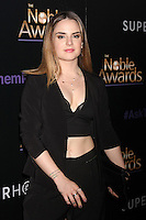BEVERLY HILLS, CA - FEBRUARY 27: Jojo Levesque at the 3rd Annual Noble Awards at the  Beverly Hilton Hotel in Beverly Hills, California on February 27, 2015. Credit: David Edwards/DailyCeleb/MediaPunch