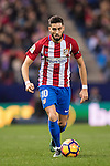 Yannick Ferreira Carrasco of Atletico de Madrid in action during the La Liga match between Atletico de Madrid and RCD Espanyol at the Vicente Calderón Stadium on 03 November 2016 in Madrid, Spain. Photo by Diego Gonzalez Souto / Power Sport Images