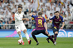 Real Madrid CF's Carlos Henrique Casemiro and FC Barcelona's Arthur Melo, Clement Lenglet during La Liga match. March 02,2019. (ALTERPHOTOS/Alconada)