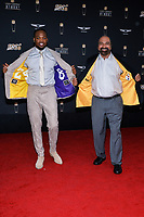MIAMI, FL - FEBRUARY 1: Derrick Henry and Franco Harris attend the 2020 NFL Honors at the Ziff Ballet Opera House during Super Bowl LIV week on February 1, 2020 in Miami, Florida. (Photo by Anthony Behar/Fox Sports/PictureGroup)