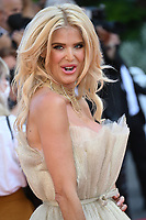 CANNES, FRANCE. July 10, 2021: Victoria Silvstedt at the premiere of Peaceful (De Son Vivant) at the 74th Festival de Cannes.<br /> Picture: Paul Smith / Featureflash