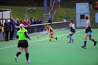Action from the girls' premier one Wellington Hockey match between Samuel Marsden Collegiate and Wellington East Girls' College at National Hockey Stadium in Wellington, New Zealand on Friday, 7 August 2020. Photo: Dave Lintott / lintottphoto.co.nz