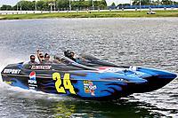 DAYTONA - FL - July 05, 2007;   Jeff Gordon unveils the new #24 DuPont Pepsi Eliminator Boat at Lake Lloyd at the Daytona international Speedway. <br /> <br /> People:   Jeff Gordon