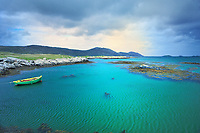 SC - OUTER HEBRIDES - ISLAND of SOUTH UIST<br /> View from the bridge to Eriksay<br /> <br /> Full size: 69,2 MB