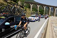 11th July 2021, Ceret, Pyrénées-Orientales, France; Tour de France cycling tour, stage 15, Ceret to  Andorre-La-Vieille;  DONOVAN Mark (GBR) of TEAM DSM  during stage 15 of the 108th edition of the 2021 Tour de France cycling race, a stage of 191,3 kms between Ceret and Andorre-La-Vieille