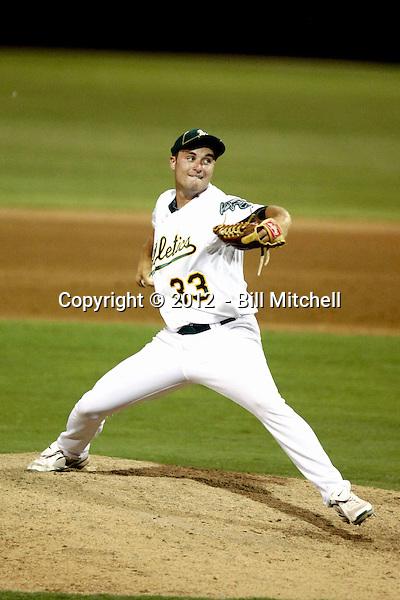 Dakota Bacus - AZL Athletics (Bill Mitchell)