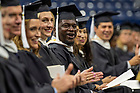 July 10, 2021; 2021 Commencement Ceremony of the University of Notre Dame's Alliance for Catholic Education (ACE) in the Purcell Pavilion of the Joyce Center. (Photo by Barbara Johnston/University of Notre Dame)