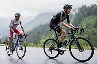 Mark Donovan (GBR/DSM) up the Col de la Colombière<br /> <br /> Stage 8 from Oyonnax to Le Grand-Bornand (150.8km)<br /> 108th Tour de France 2021 (2.UWT)<br /> <br /> ©kramon