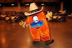 Howdy the mascot dances around at the 17th Annual Black Heritage Western Gala at the Reliant Center Saturday Jan. 30,2010.(Dave Rossman Photo)