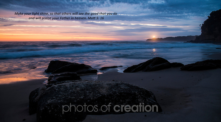 Sunrise at Jenny Dixon Beach NSW