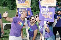 Kamala Harris - 4th of July Parade - Amherst, NH - 4 July 2019