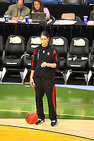 8 April 2008: Stanford Cardinal Michelle Harrison during Stanford's 64-48 loss against the Tennessee Lady Volunteers in the 2008 NCAA Division I Women's Basketball Final Four championship game at the St. Pete Times Forum Arena in Tampa Bay, FL.