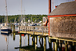 Lovely Rockport Harbor, Mid-coast, ME