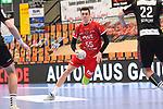 Ludwigshafens Azat Valiullin (Nr.55) am Ball beim Spiel in der Handball Bundesliga, Die Eulen Ludwigshafen - Tusem Essen.<br /> <br /> Foto © PIX-Sportfotos *** Foto ist honorarpflichtig! *** Auf Anfrage in hoeherer Qualitaet/Aufloesung. Belegexemplar erbeten. Veroeffentlichung ausschliesslich fuer journalistisch-publizistische Zwecke. For editorial use only.
