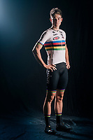 Official 2018/2019 portrait of cyclocross World Champion Wout van Aert (BEL)<br /> <br /> for his Cibel-Cebon Offroad Team<br /> <br /> photo by ©kramon<br /> october 2018