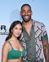 """12 August 2021 - Santa Monica, California - Mike Johnson and Tammy Ly . ABC's """"Bachelor In Paradise"""" And """"The Ultimate Surfer"""" Premiere. Photo Credit: Billy Bennight/AdMedia"""