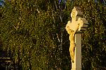 Crucifix, Kruzifix, Wegkreuz, field crucifix, Altschlaining, Burgenland, Austria, Österreich