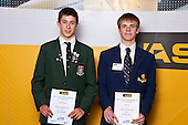 Boys Mountain Biking finalists Locky McArthur & Tim Fox. ASB College Sport Auckland Secondary School Young Sports Person of the Year Awards held at Eden Park on Thursday 12th of September 2009.