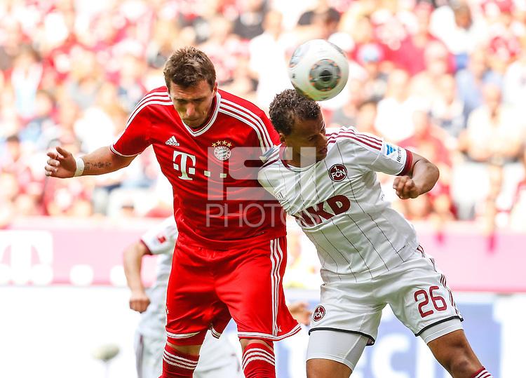 Football: Germany, 1. Bundesliga, FC Nuernberg - Timothy Chandler