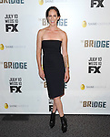Annabeth Gish at The red carpet event for The FX Series The Bridge held at The DGA in West Hollywood, California on July 22,2021                                                                   Copyright 2013 Hollywood Press Agency