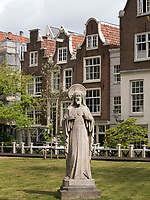 Begijnhof (Beginenhof) in Amsterdam, Provinz Nordholland, Niederlande<br /> Begijnhof (beguinage), Amsterdam, Province North Holland, Netherlands