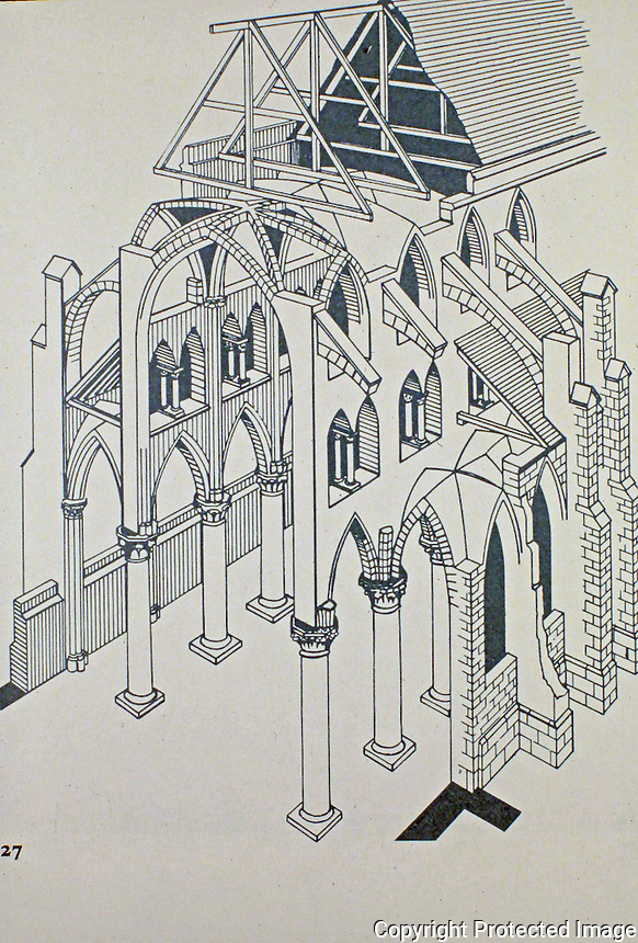 Teaching Aid: Construction of Gothic Cathedral