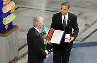 Oslo, 20091210. Obama accepts the Nobel Peace Price.  Foto: Eirik Helland Urke