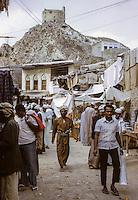 Oman, 1972.  Mutrah Street.
