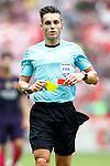 Spanish referee Carlos del Cerro Grande during La Liga match. September 24,2016. (ALTERPHOTOS/Acero)