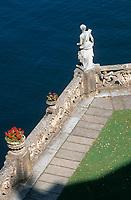 """Europe/Italie/Lac de Come/Lombardie/Lenno : Villa """"Del Balbianello"""" - Les jardins"""