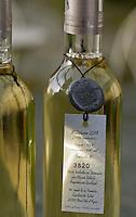 Europe/France/Provence-Alpes-Côte d'Azur/06/Alpes-Maritimes/Nice:Le vin d' Olivier Bettati Viticulteur - Clos Nicéa - AOC Bellet