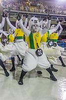 Rio de Janeiro (RJ), 21/02/2020 CARNAVAL - RJ - DESFILE - Desfile das escolas de samba  Academicos de Vigario Geral, da Serie A, nesta sexta-feira (21), no sambodromo, no centro do Rio de Janeiro (RJ). (Foto: Ellan Lustosa/Codigo 19/Codigo 19)