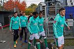 17.10.2020, Schwarzwald Stadion, Freiburg, GER, 1.FBL, SC Freiburg vs SV Werder Bremen<br /> <br /> im Bild / picture shows<br /> <br /> Milot Rashica (Werder Bremen #07)<br /> Ömer / Oemer Toprak (Werder Bremen #21)<br /> Davie Selke  (SV Werder Bremen #09)<br /> Niclas Füllkrug / Fuellkrug (Werder Bremen #11)<br /> <br /> Kevin Möhwald / Moehwald (Werder Bremen #06)<br /> Foto © nordphoto / Bratic<br /> <br /> DFL REGULATIONS PROHIBIT ANY USE OF PHOTOGRAPHS AS IMAGE SEQUENCES AND/OR QUASI-VIDEO.