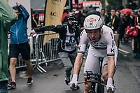 TT World Champion Tony Martin (DEU/Katusha) finishes (a dissapointing) 4th in his homelands opening stage <br /> <br /> 104th Tour de France 2017<br /> Stage 1 (ITT) - Düsseldorf › Düsseldorf (14km)