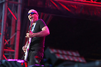 Joe Satriani at the 44th Festival d'ete de Quebec on the Plains of Abraham in Quebec city Saturday July 16, 2011. The Festival d'ete de Quebec is Canada's largest music festival with more than 1000 artists and close to 400 shows over 11 days. The Canadian Press Images PHOTO/Festival d'ete de Quebec
