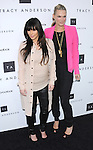 Kim Kardashian and Molly Sims celebrates the opening of the Tracy Anderson flagship studio in Brentwood, California on April 04,2013                                                                   Copyright 2013 Hollywood Press Agency