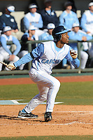 Brian Goodwin (Right Fielder) North Carolina Tar Heels (Photo by Tony Farlow/Four Seam Images)