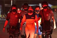 30/08/2020 - POLÍCIA RETIRA TRABALHADORES DOS CORREIOS EM INDAIATUBA