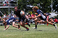 Action from the 2019 Condor Sevens National Tournament at Kings College in Auckland, New Zealand on Saturday, 30 November 2019. Photo: Simon Watts / lintottphoto.co.nz
